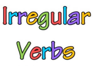 50 Most Common Irregular Verbs | Learning English in MetroWest